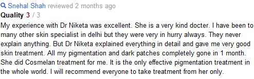 Dr Niketa's Skin Secrets, New Delhi - Pigmentation Treatment