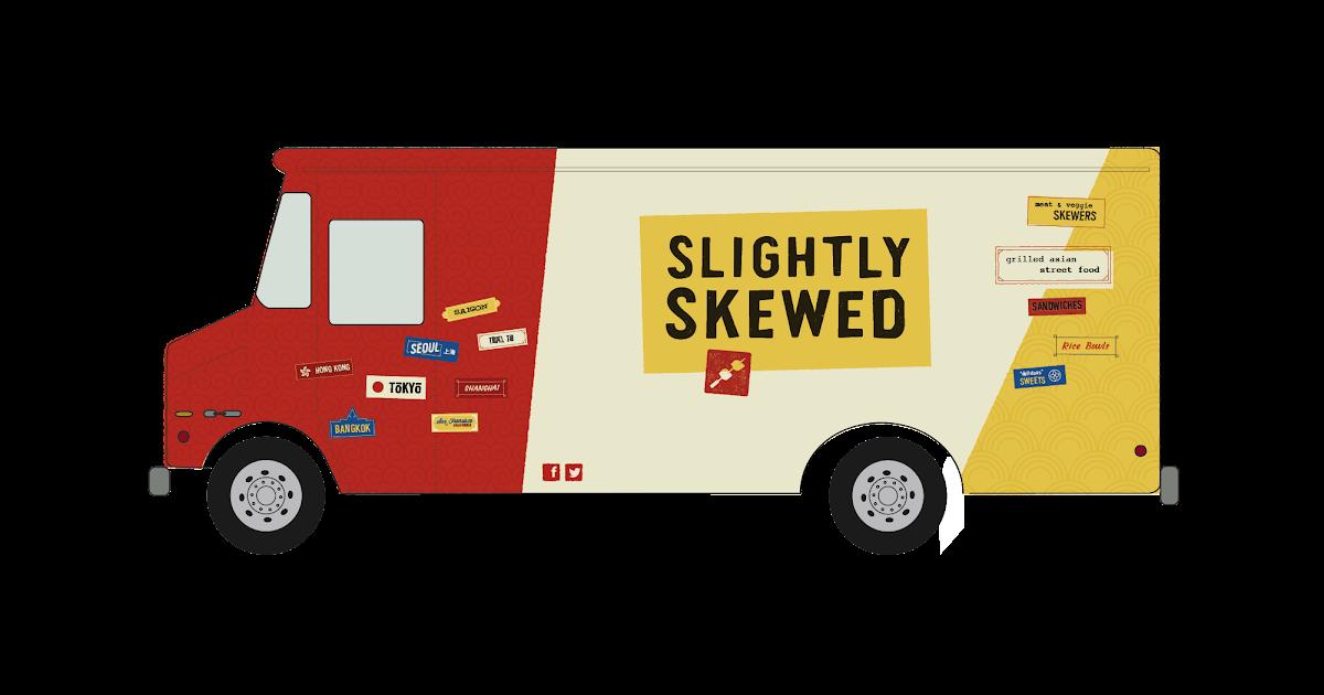 This Truck is Slightly Skewed