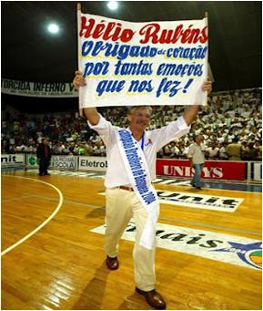 Obrigado por tudo Hélio Rubens!