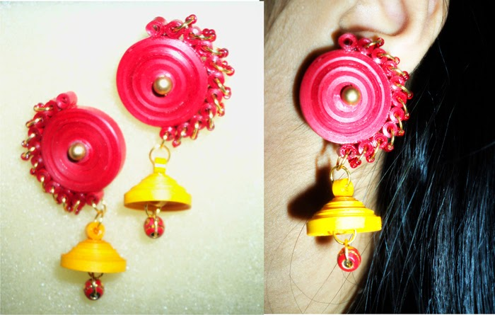 Amazingly Creative Paper Quilling Jewellery Designs