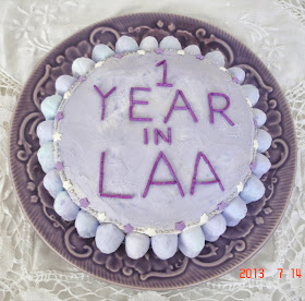 1 year attendance MEDALLION (cake)