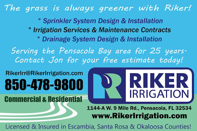 Sprinkler System, Irrigation Contracts, & Drainage in the Pensacola Bay area