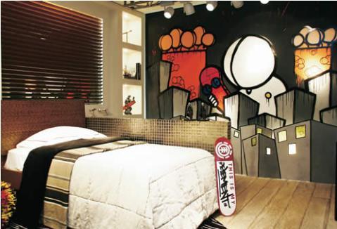 Decorar Habitaciones: Dormitorios decorados juveniles