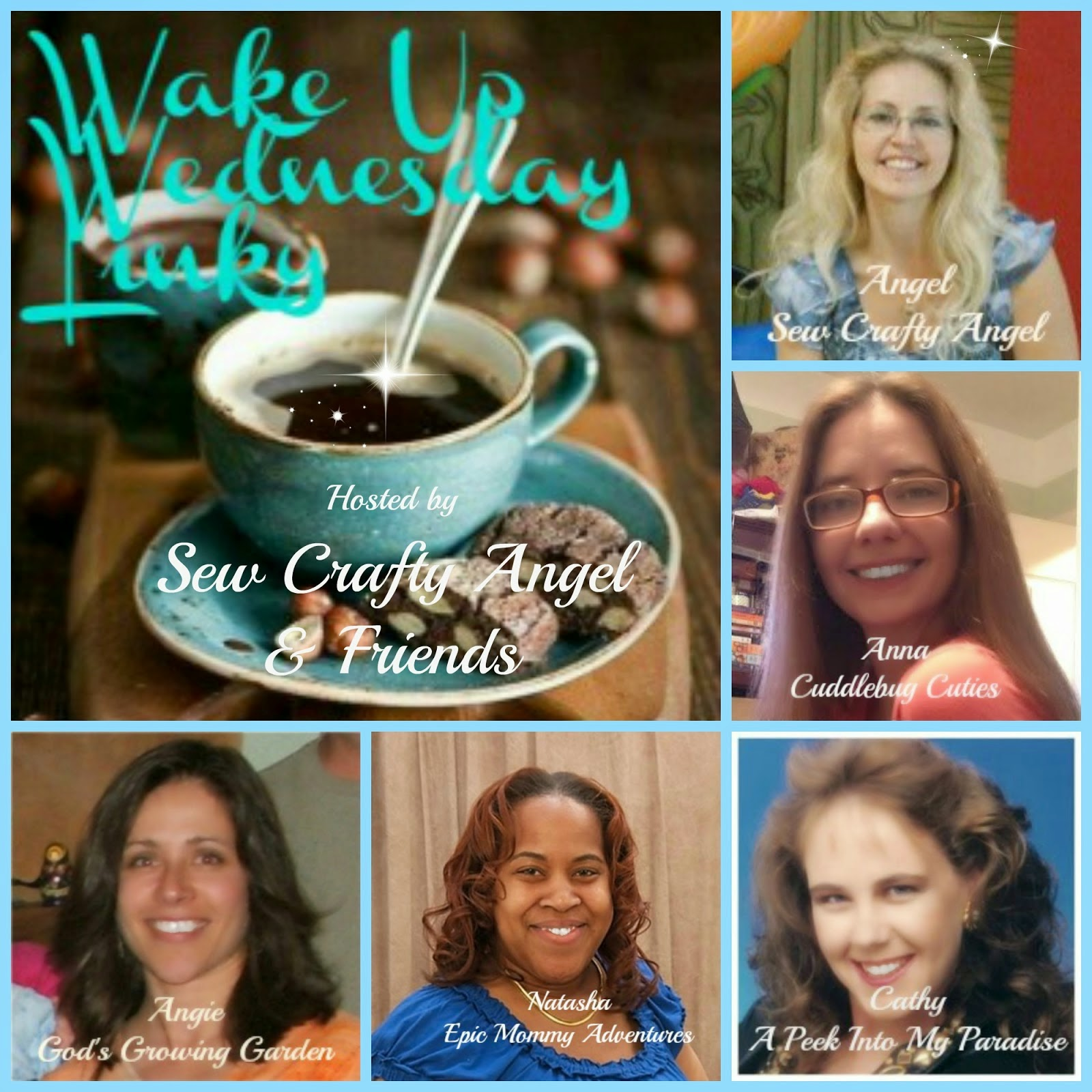 http://sewcraftyangel.blogspot.com/2015/04/wake-up-wednesday-linky-party-65.html