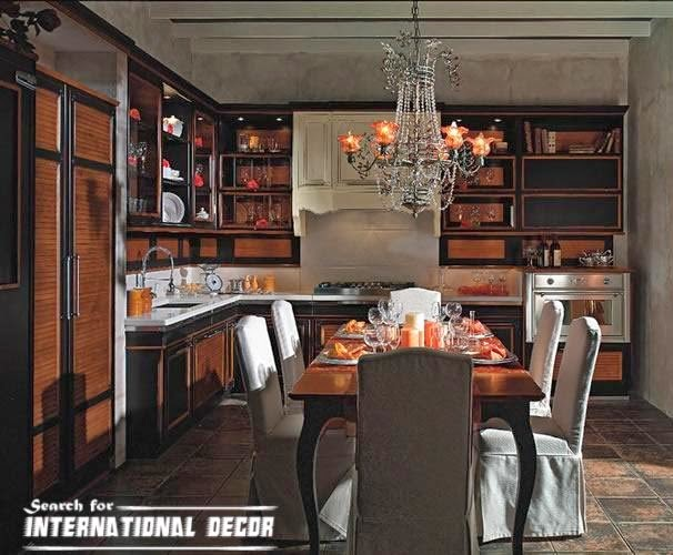 Italian kitchen, Italian cuisine, classic kitchen designs