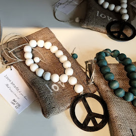Love Beads for your home from Rich Hippie Design.