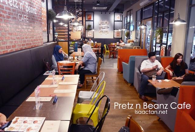 Pretz N' Beanz Cafe Solaris Mont Kiara