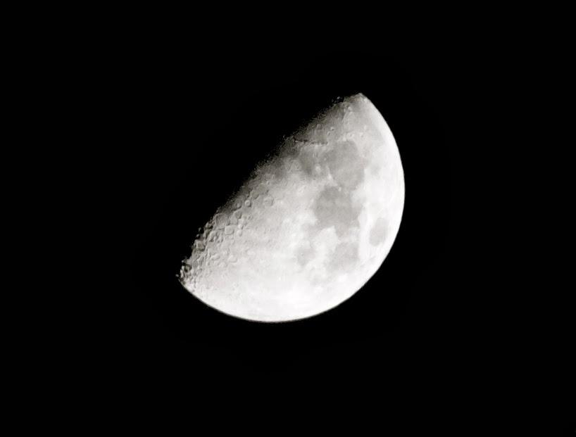 Luna lunera, desde mi terraza