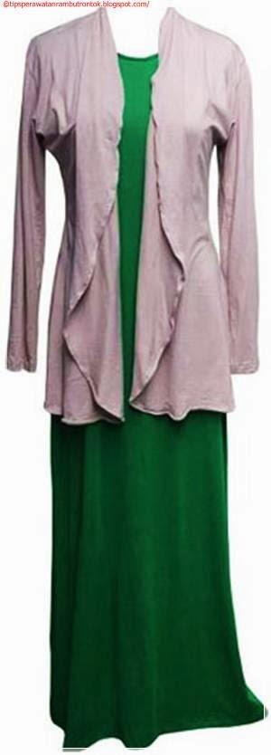 Gambar Model Baju Gamis Modern Wanita Muslimah
