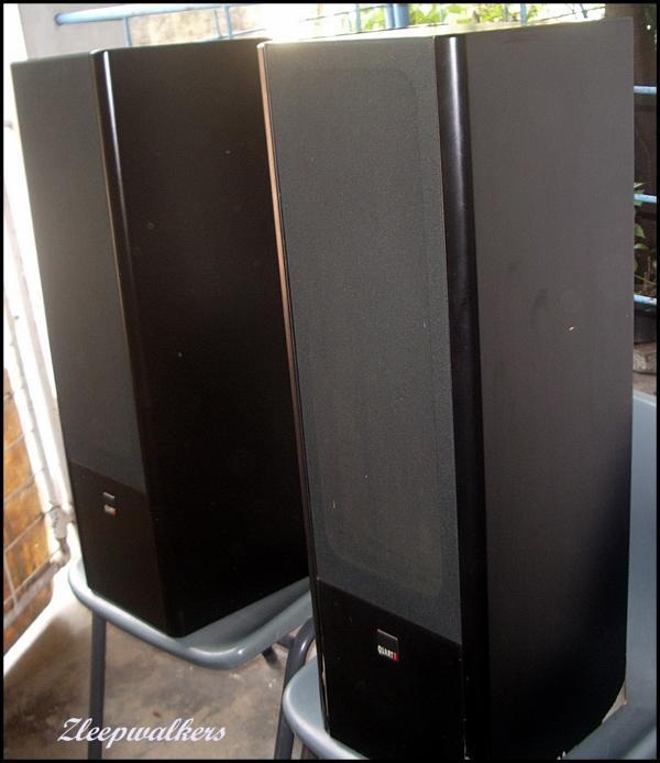 Zleepwalkers Mb Quart 350s Floorstander Loudspeakers 8