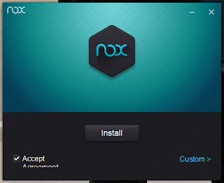 Installasi Nox APP Player