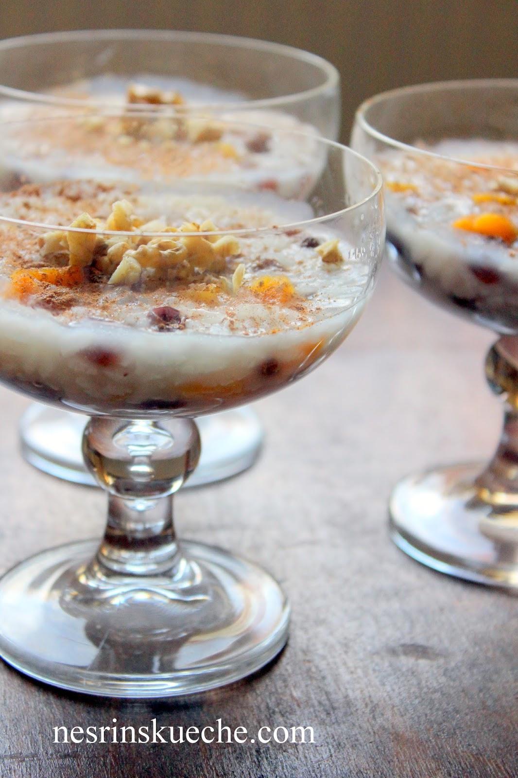 Nesrin's Küche: Ermeni Noel Aşuresi / Weihnachtliche Aşure nach Armenische Art
