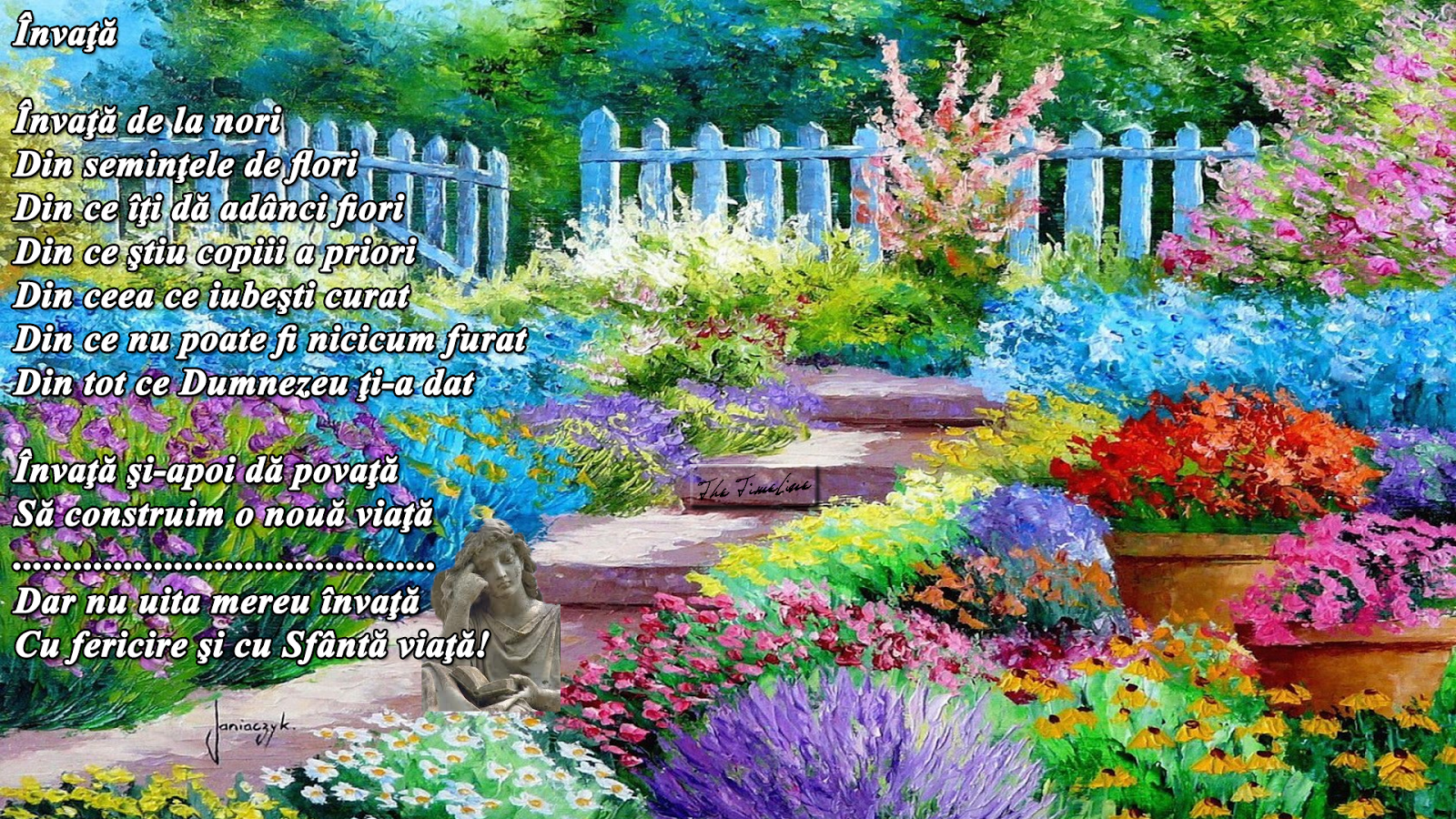 invata devenire credinta intelepciune Dumnezeu iubire Iisus natura Maria Teodorescu Bahnareanu Wrinkles on my Timeline