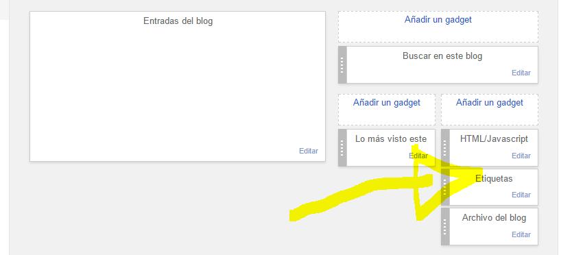 Personaliza los marcos de blogger