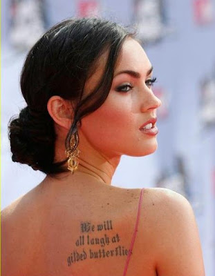 megan fox tatoo