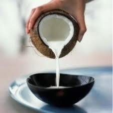 coconut milk mask
