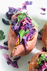 Braised Red Cabbage with Sweet Potatoes