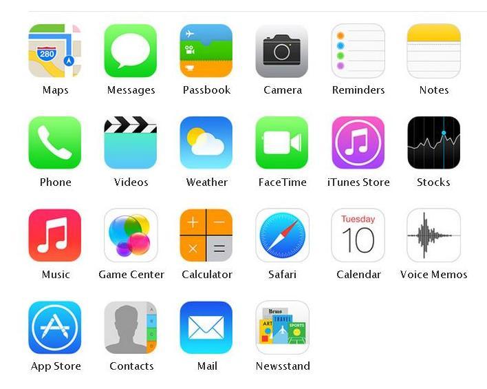iphone 5c blue default wallpaper