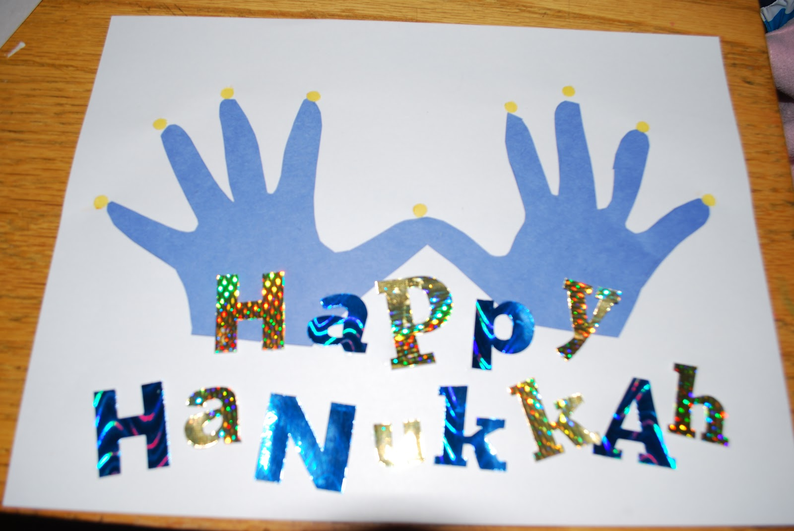 Uncategorized Handprint Menorah crafty mimzy handprint menorah menorah