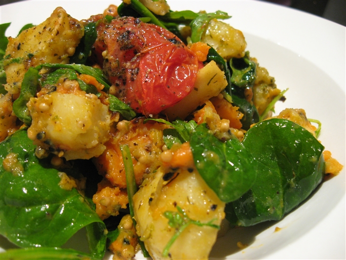 Morsels and Musings: warm roasted vegetable salad