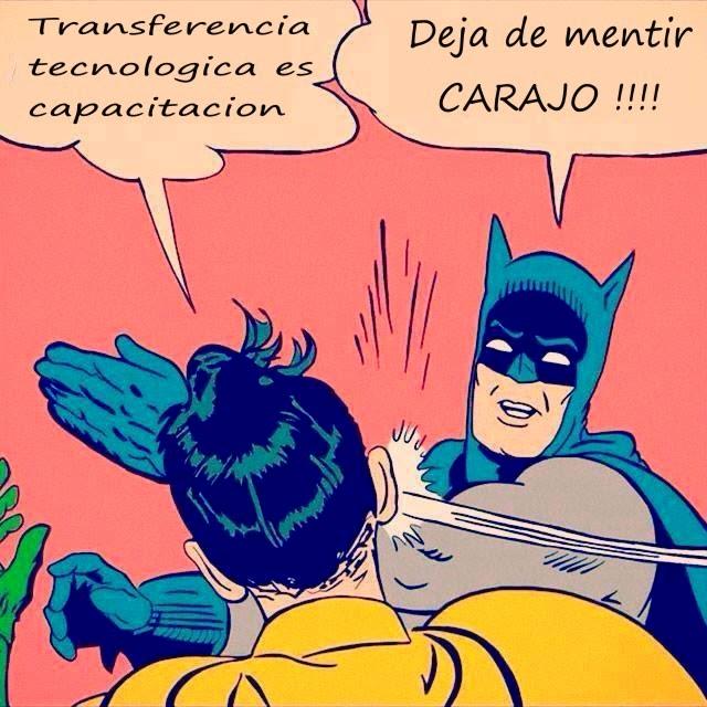 Capacitacion NO es transferencia tecnologica