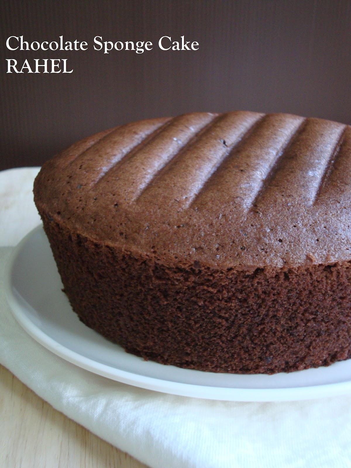 I Love Cake: Chocolate Sponge Cake