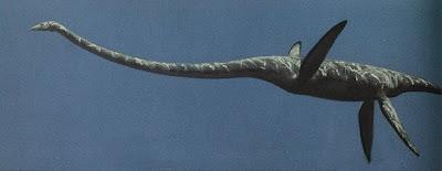 reptiles marinos del cretaceo Elasmosaurus