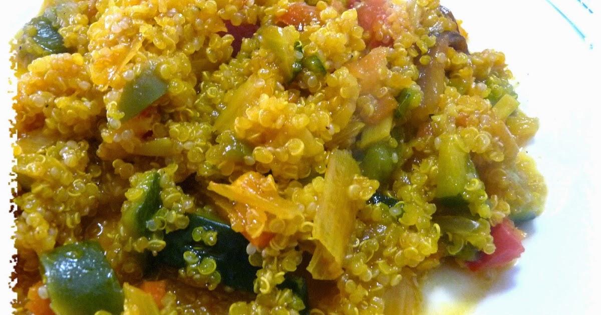 Recetas light adelgazaconsusi quinoa con verduras verdifresh - Cocinar quinoa con verduras ...