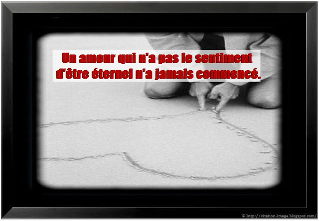 Citation sentiment amoureux