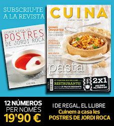 Promoció especial de la Revista CUINA !