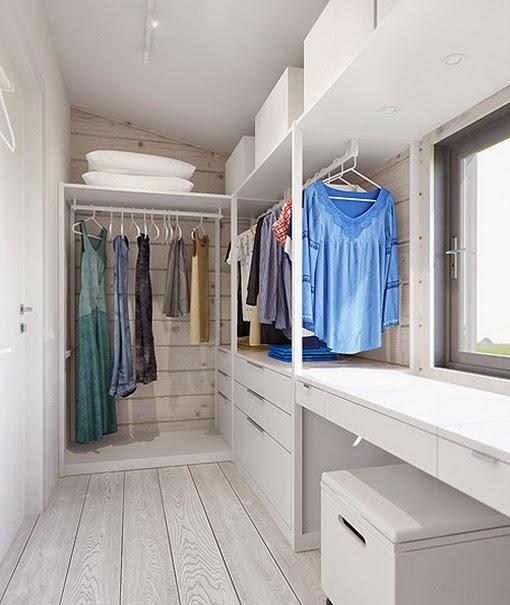 Decoracion De Un Baño Principal:Marzua: Dormitorio principal con vestidor y cuarto de baño privado