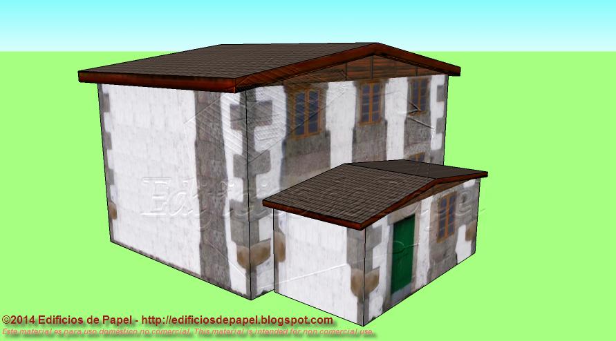 Original diseño para esta casita de campo
