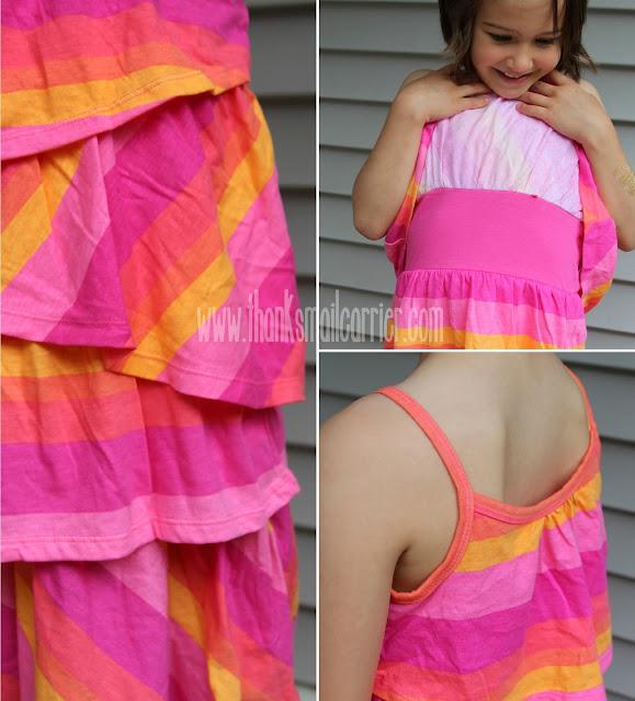 FabKids Tiered Stripe Dress