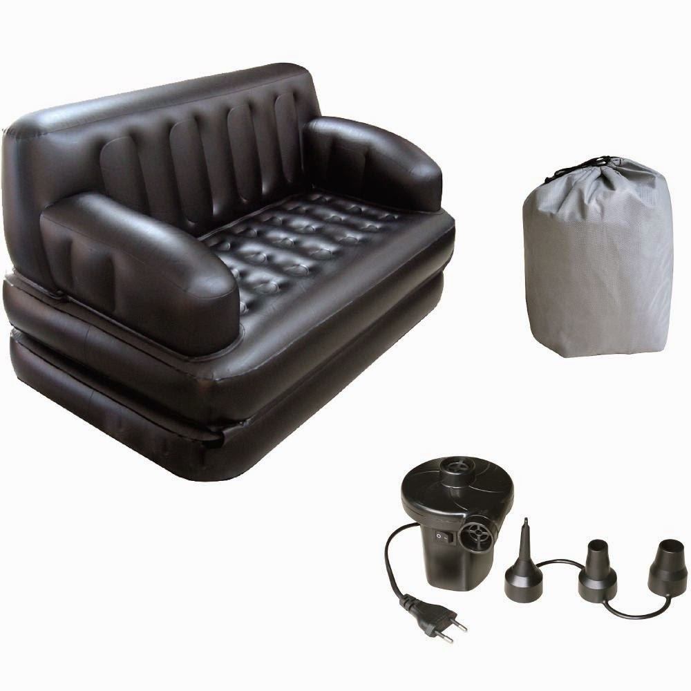 Homeshop18 : Birde Inflatable Sofa Cum Bed at Rs. 4999 : Buy To Earn