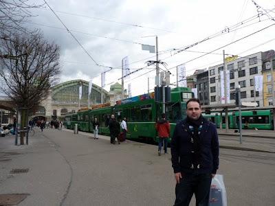 Tranvia en Basilea