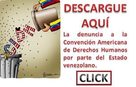 Denuncia a la Convención Americana de Derechos Humanos