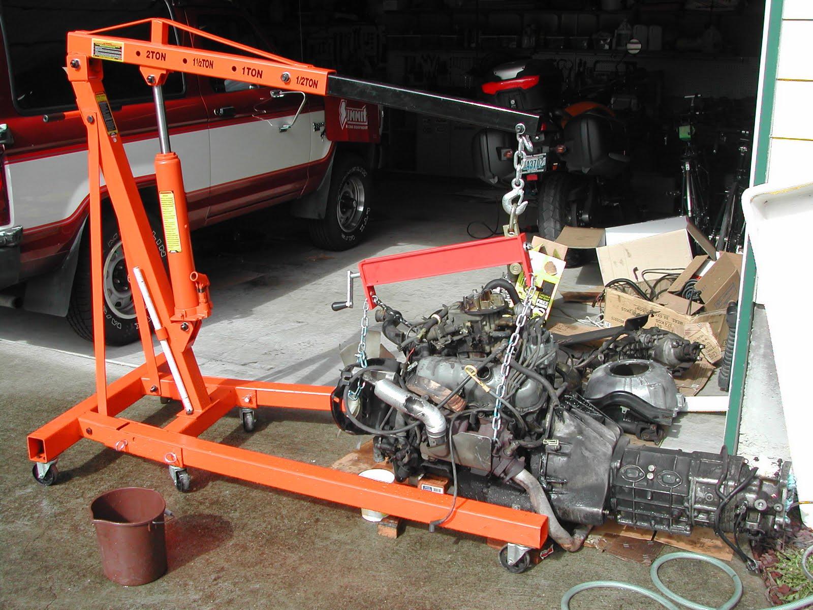 Dan's Blog: The Great Bronco Engine Transplant- No Retreat No ...