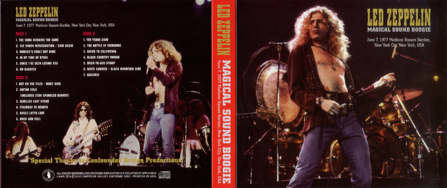Plumdusty 39 S Page Led Zeppelin 1977 06 07 Madison Square Garden New York New York