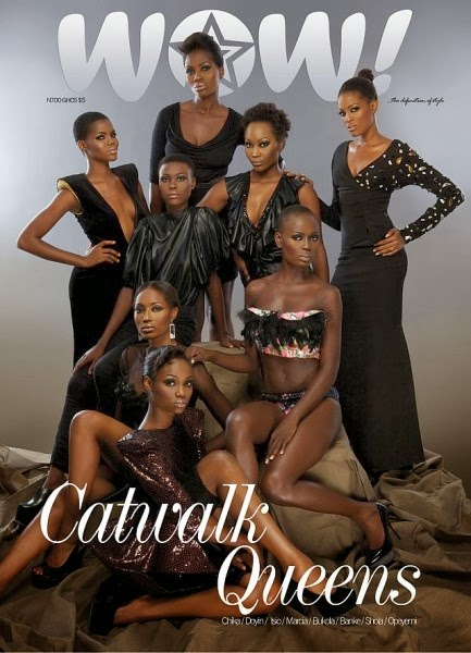 AFRICA NEXT TOP MODEL Finalist Revealed