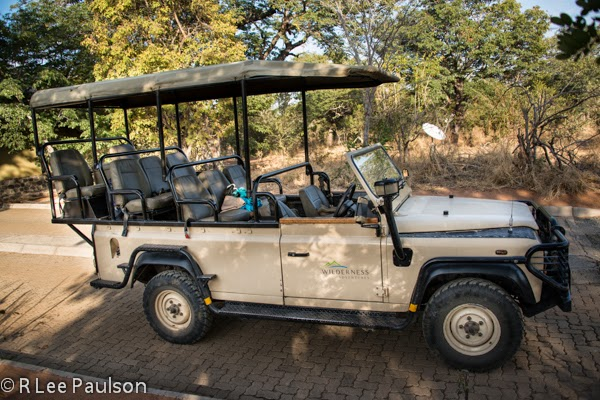 Land Rover in Botswana, Africa