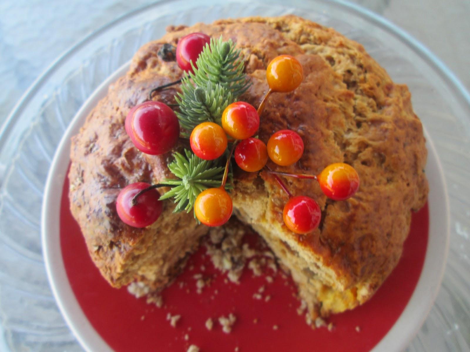 Canela kitchen: Christmas fruit Cake (Pan de Pascua de mi mamá)