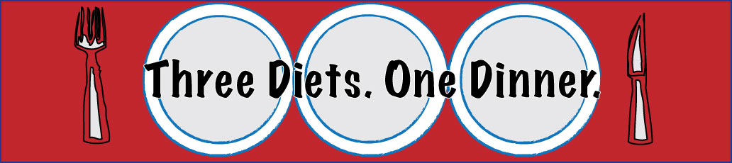 ThreeDietsOneDinner - Paleo Recipes to fit every diet - Paleo Weight Loss - Optimal Nutrition