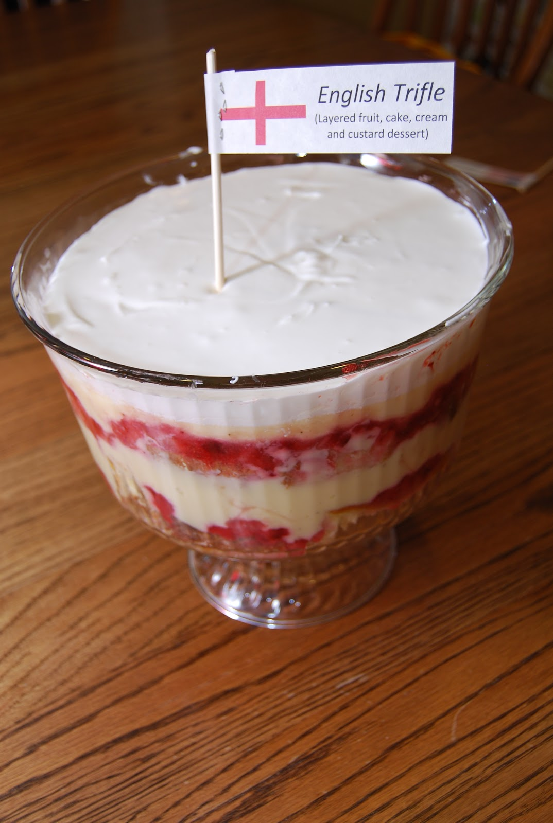 The Britophile Diaries: My English Trifle!
