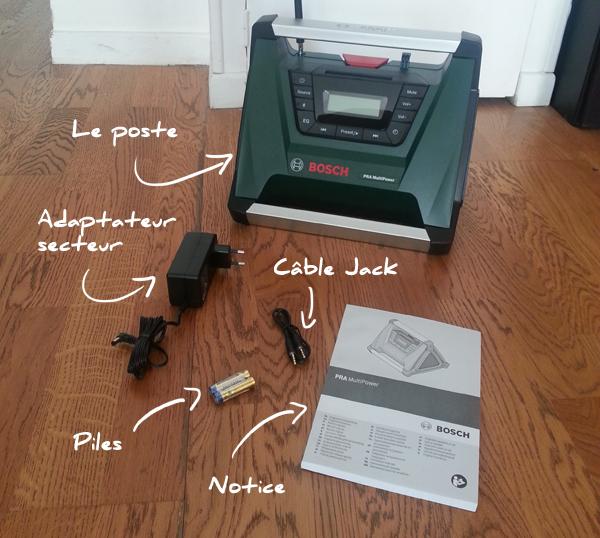 papacube radio de chantier bosch pra multipower test et avis. Black Bedroom Furniture Sets. Home Design Ideas
