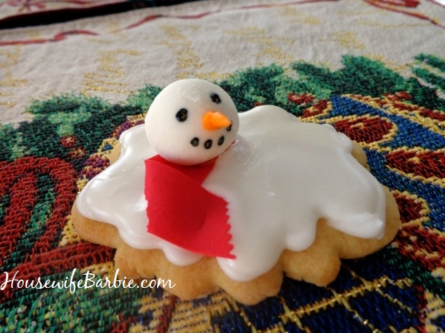 An American Housewife Step By Step Photos Of Melted Snowman
