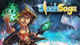 Screenshots of the Slash saga for Android tablet, phone.