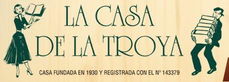 o en la librería La casa de la Troya (Madrid)