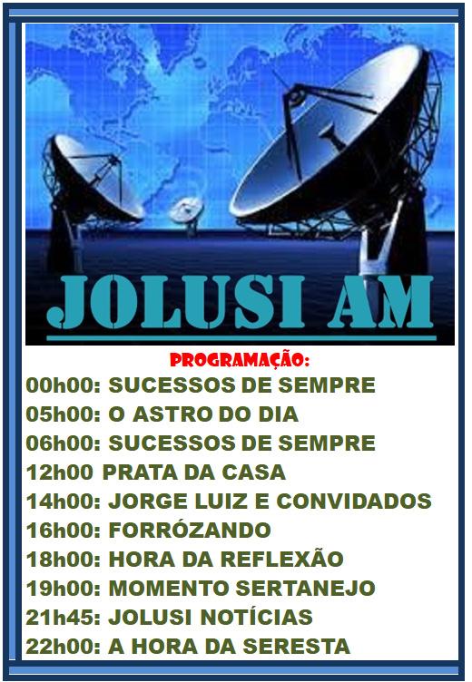 Programas da JOLUSI AM