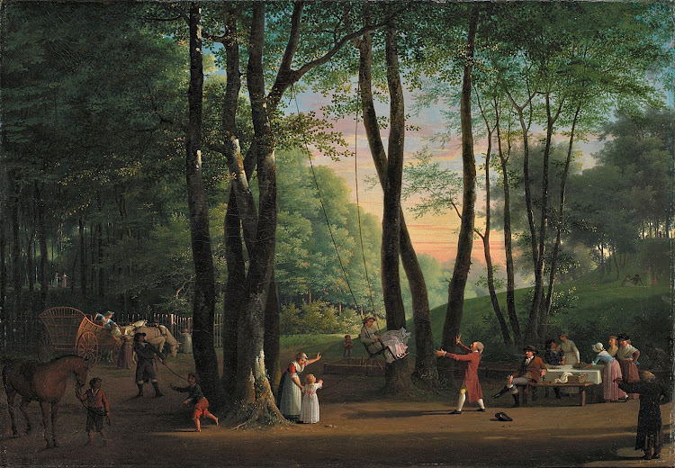 Jens Juel - The Dancing Glade at Sorgenfri