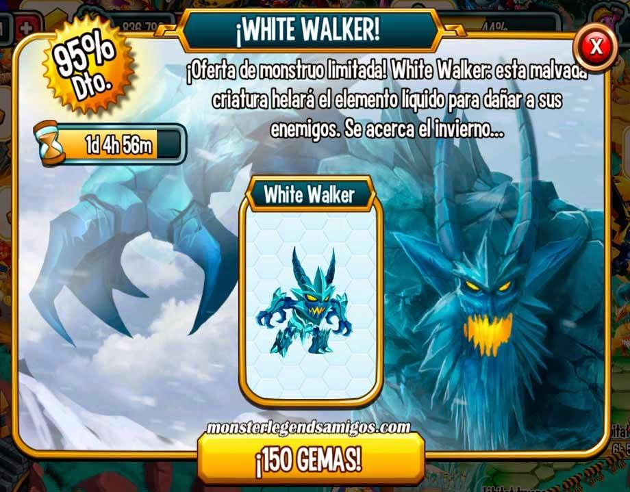 imagen del white walker en oferta especial